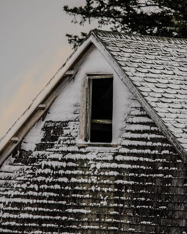 Barn Poster featuring the photograph The Crows Nest by Susan Capuano
