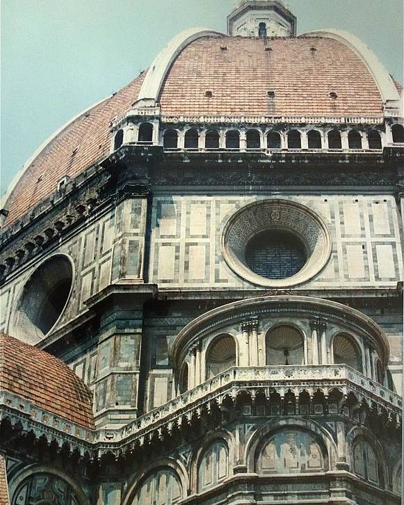 Duomo Poster featuring the painting The Duomo Firenze by Melinda Saminski