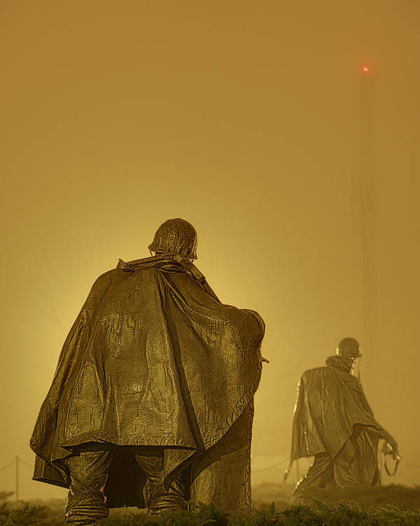 Metro Poster featuring the photograph The Fog Of War #2 by Metro DC Photography
