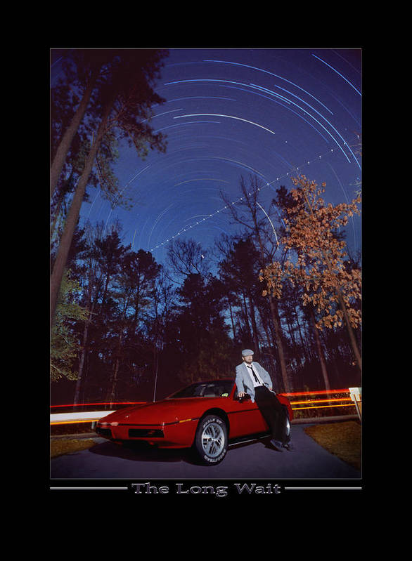 Star Traces Poster featuring the photograph The Long Wait by Mike McGlothlen