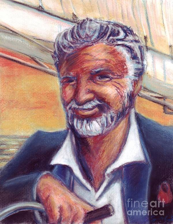 Most Interesting Man In The World Poster featuring the painting The Most Interesting Man In The World by Samantha Geernaert