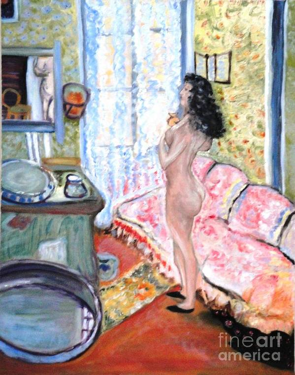 Art Collectors Poster featuring the painting The Perfumed Room by Helena Bebirian