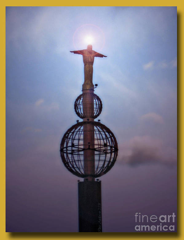 Statuary Poster featuring the photograph The Son Rising by Chris Anderson