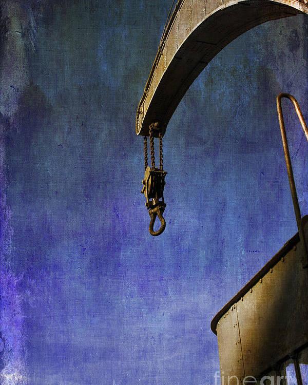 Fairbairn Steam Crane Poster featuring the photograph The Steam Crane by Brian Roscorla