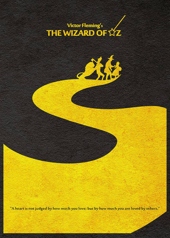 The Wizard Of Oz Poster By Inspirowl Design