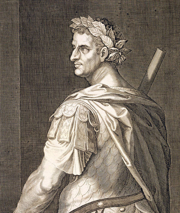 Titian Poster featuring the painting Tiberius Caesar by Titian