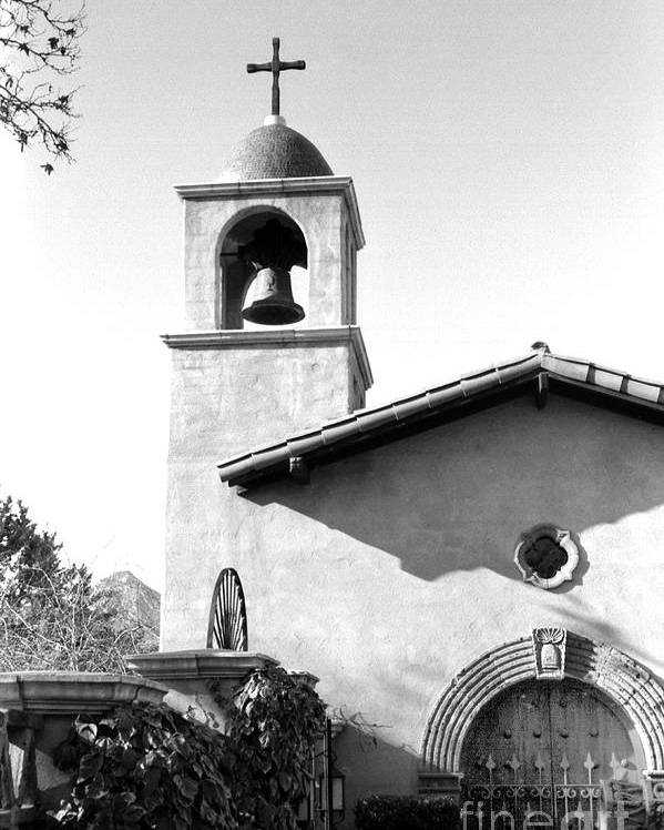 Photograph Poster featuring the photograph Tlaquepaque Chapel by David Doucot
