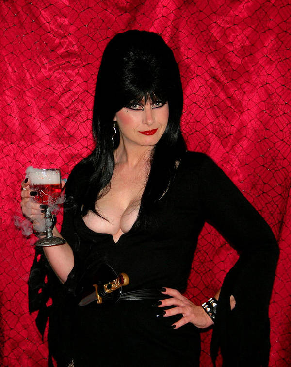 Elvira Poster featuring the photograph Toasty by Kristin Elmquist