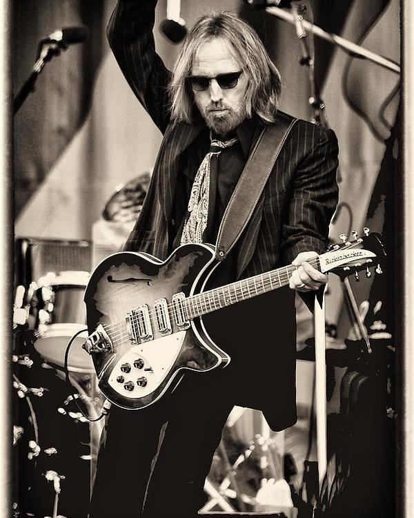 Tom Petty by Marc Malin