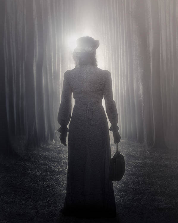 Woman Poster featuring the photograph Towards The Light by Joana Kruse