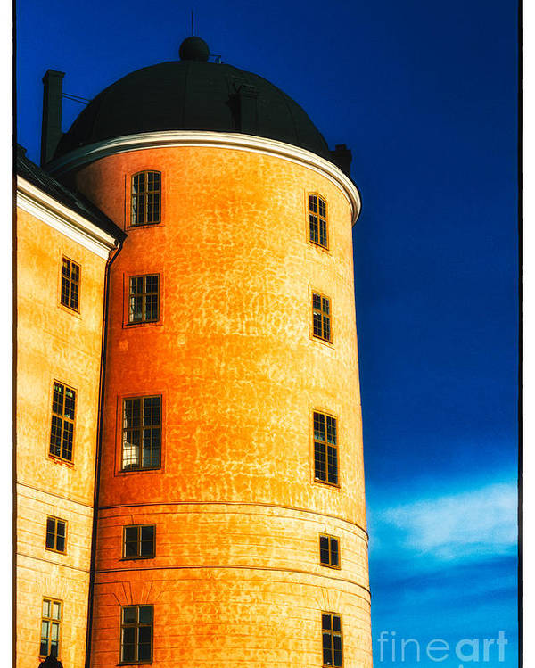 Castle Poster featuring the photograph Tower Of Uppsala Castle - Sweden by David Hill