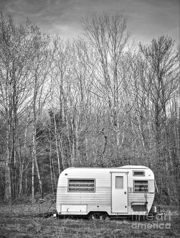 Camping Poster featuring the photograph Trailer by Diane Diederich