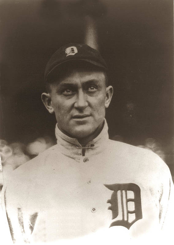 Ty Cobb 1915 Poster featuring the photograph Ty Cobb 1915 by Unknown