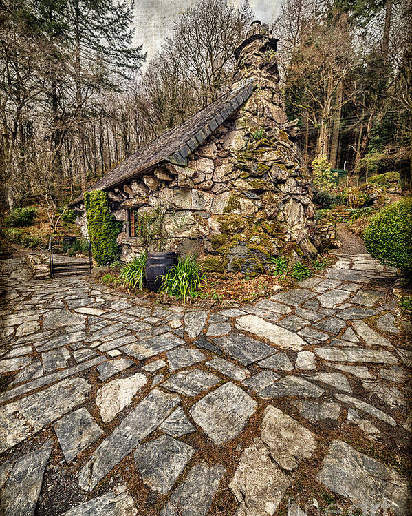 Betws Y Coed Poster featuring the photograph Ugly Cottage by Adrian Evans