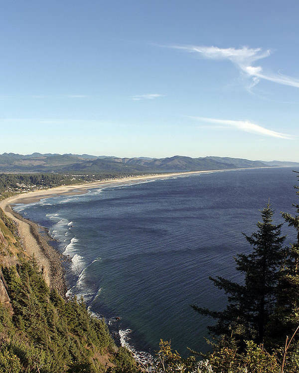 Oregon Coast Poster featuring the photograph View Point by Chris Anderson