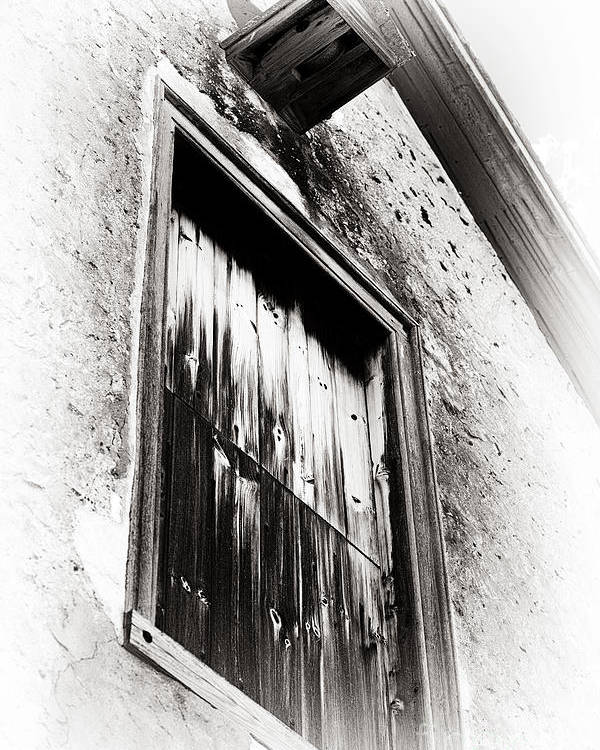 Vintage Wooden Window Poster featuring the photograph Vintage Wooden Window by John Rizzuto