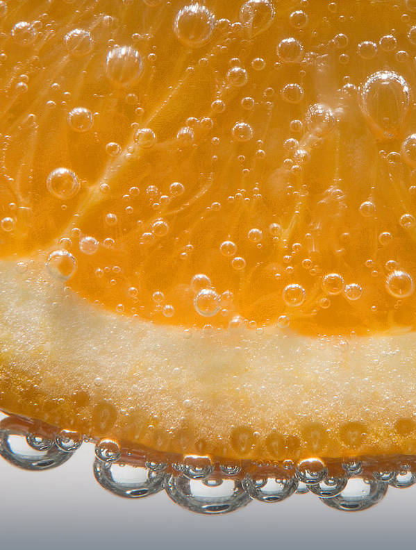 Orange Poster featuring the photograph Vitamin C by Susan Candelario