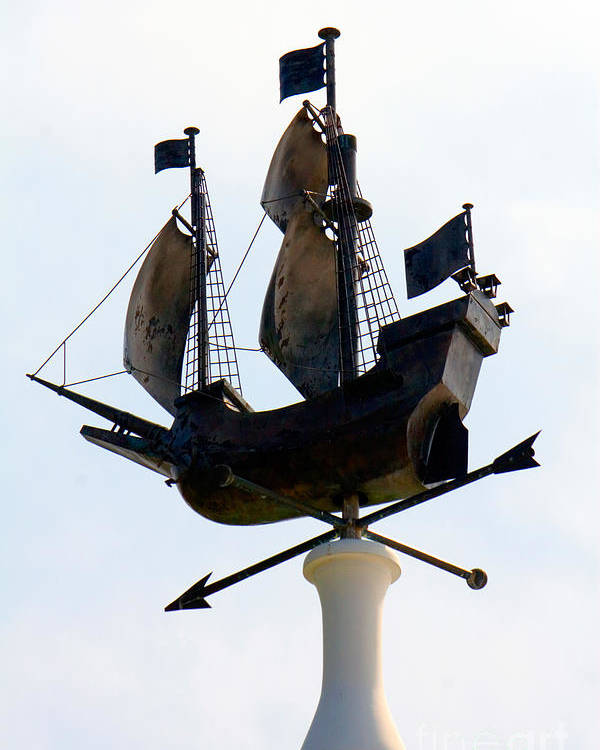 Weather Vane Poster featuring the photograph Weather Vane by Tim Holt