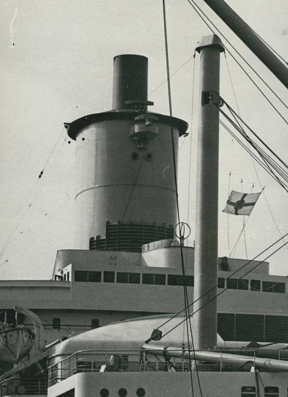 retro Images Archive Poster featuring the photograph �welsh Bonnet� Funnel For New Liner by Retro Images Archive
