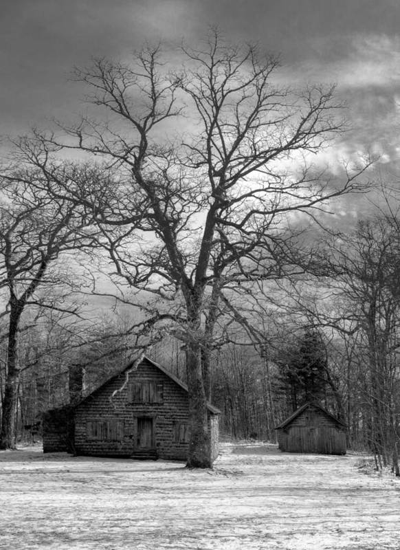 Appalachia Poster featuring the photograph Wilson Lick Ranger Station by Debra and Dave Vanderlaan