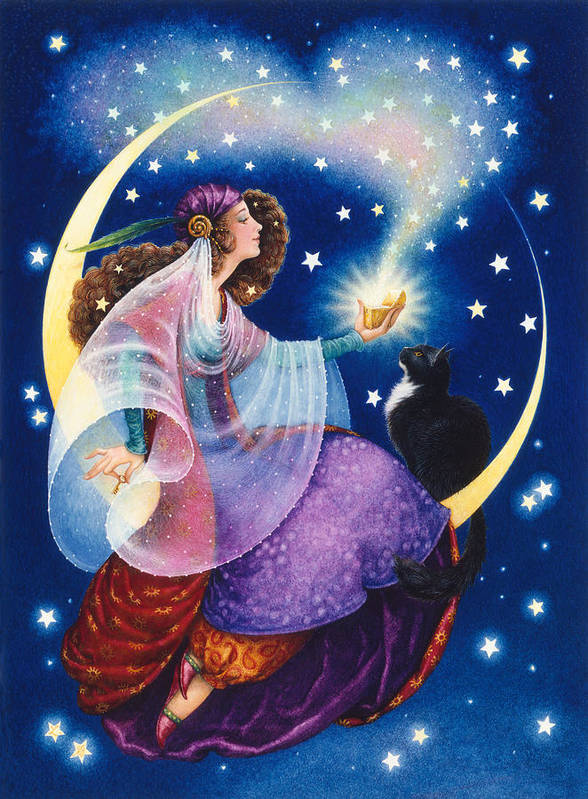 Gypsy Poster featuring the painting Wishes by Lynn Bywaters