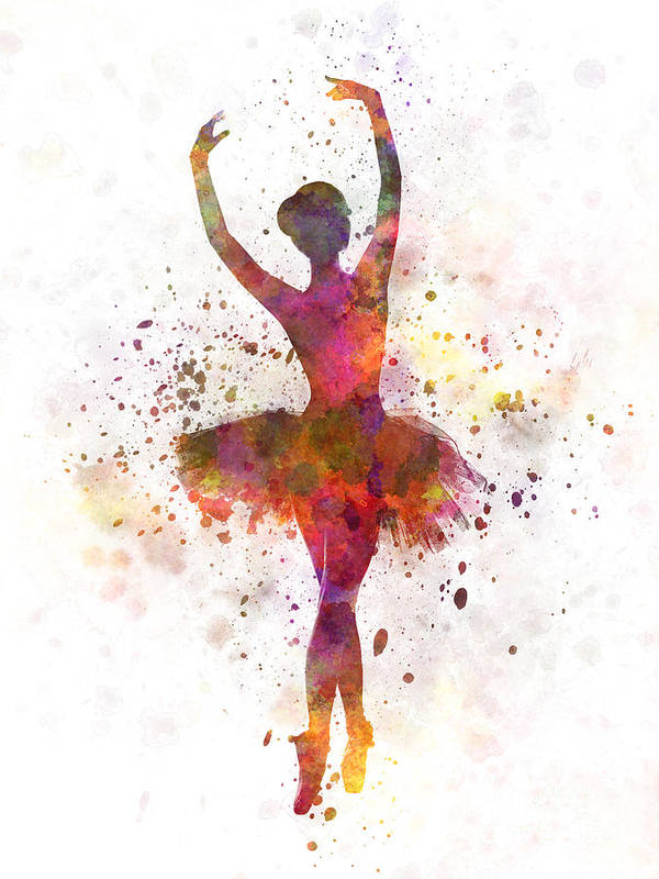 low priced b7883 b7576 Woman Ballerina Ballet Dancer Dancing Poster