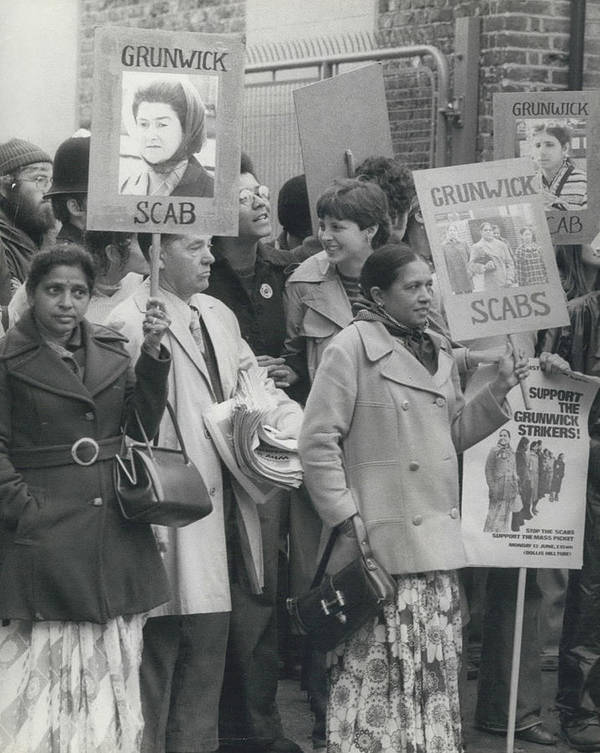 retro Images Archive Poster featuring the photograph Workers At The Grunwick Laboratories Offered Council Houses by Retro Images Archive