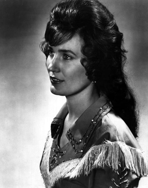 Retro Images Archive Poster featuring the photograph Younger Loretta Lynn by Retro Images Archive