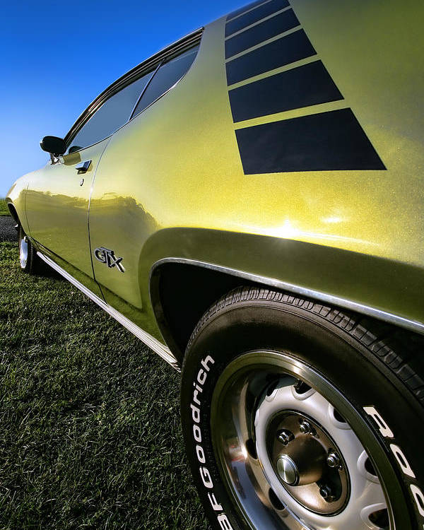 1971 Poster featuring the photograph 1971 Plymouth Gtx by Gordon Dean II