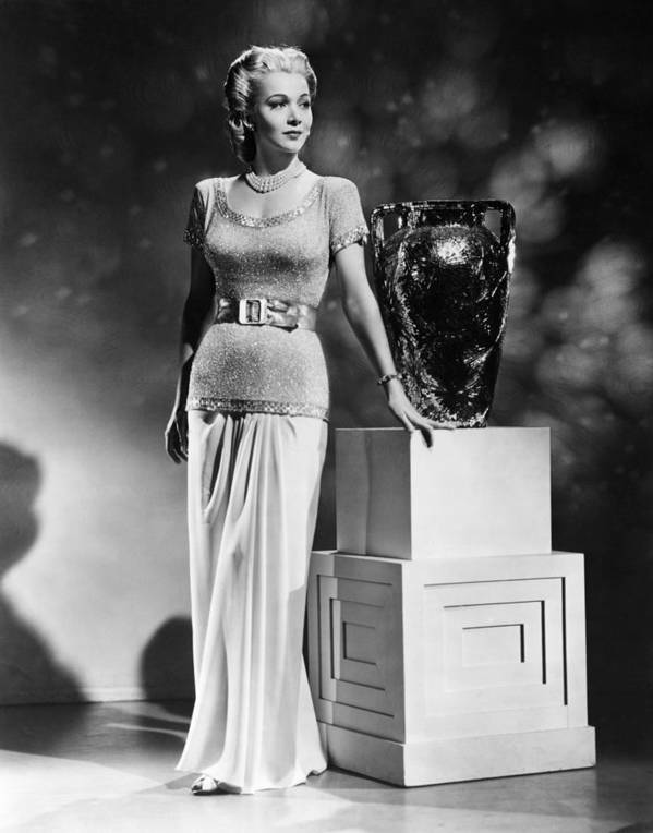 1940s Portraits Poster featuring the photograph Carole Landis, Ca. 1941 by Everett