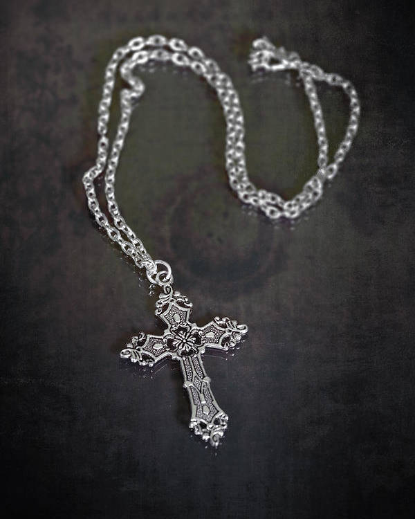 Necklace Poster featuring the photograph Celtic Cross by Joana Kruse