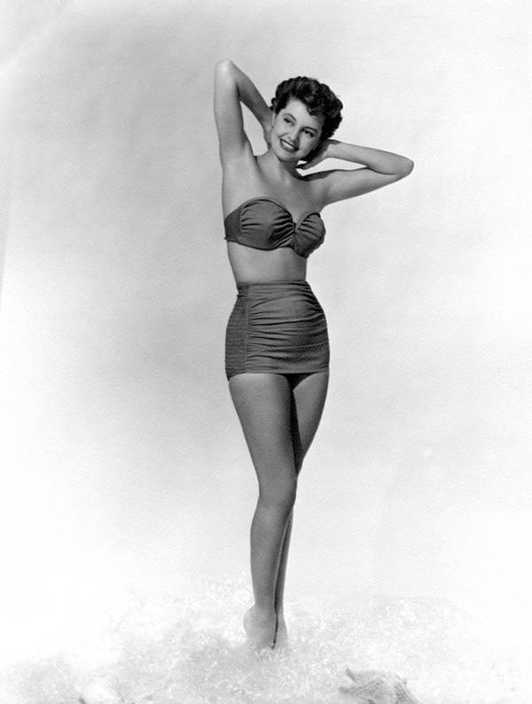 11x14lg Poster featuring the photograph Cyd Charisse, Ca. 1950s by Everett