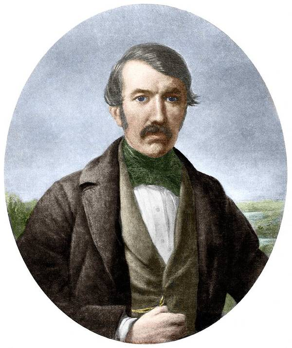 David Livingstone Poster featuring the photograph David Livingstone, Scottish Explorer by Sheila Terry