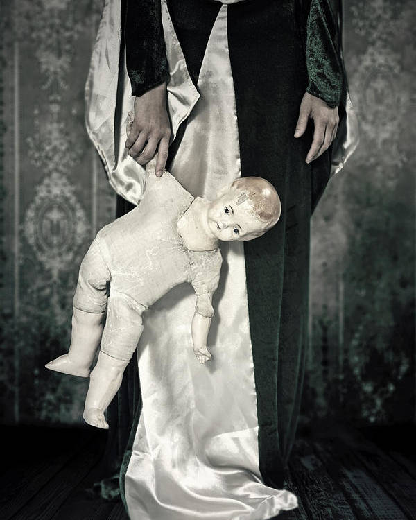 Female Poster featuring the photograph Doll by Joana Kruse