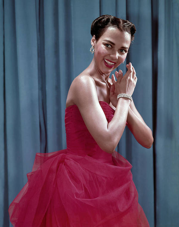 1950s Fashion Poster featuring the photograph Dorothy Dandridge, 1954 by Everett