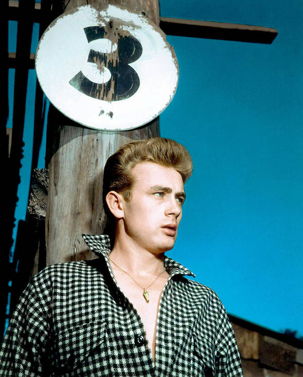 1950s Movies Poster featuring the photograph East Of Eden, James Dean, 1955 by Everett