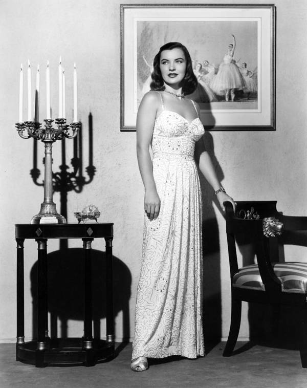 1940s Portraits Poster featuring the photograph Ella Raines, 1946 by Everett