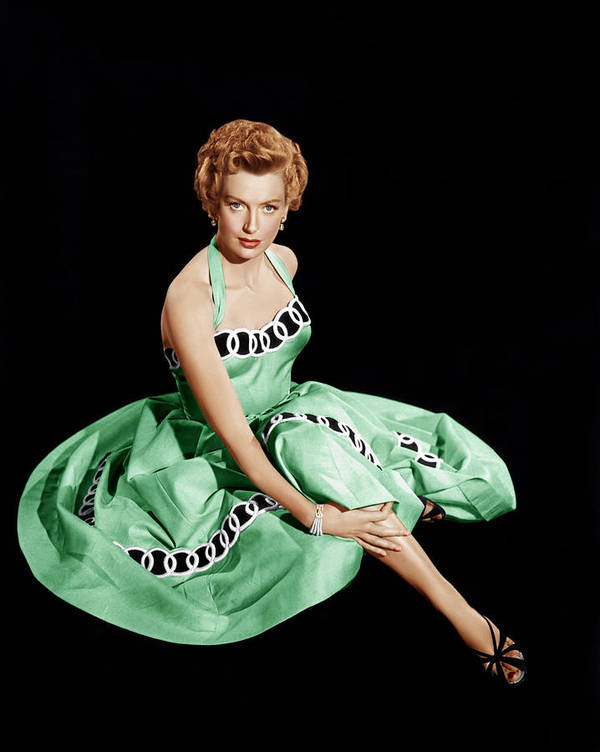 1950s Fashion Poster featuring the photograph From Here To Eternity, Deborah Kerr by Everett