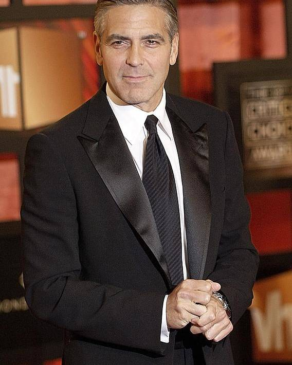 The Broadcast Film Critics Association (bfca) 13th Annual Critics'' Choice Awards Poster featuring the photograph George Clooney At Arrivals For The by Everett