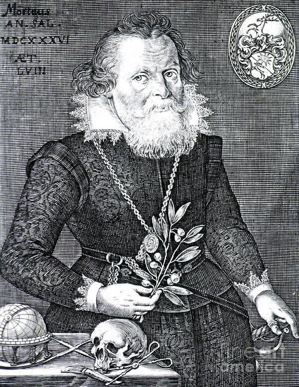 History Poster featuring the photograph Gregor Horstius, German Physician by Science Source