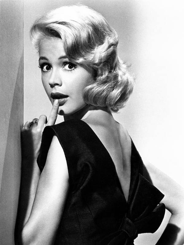 1960s Fashion Poster featuring the photograph If A Man Answers, Sandra Dee, 1962 by Everett