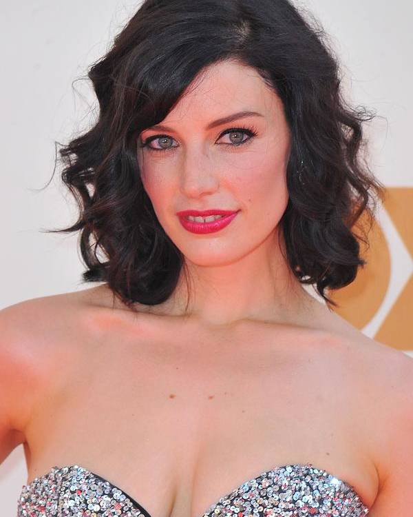 Jessica Pare Poster featuring the photograph Jessica Pare At Arrivals For The 63rd by Everett