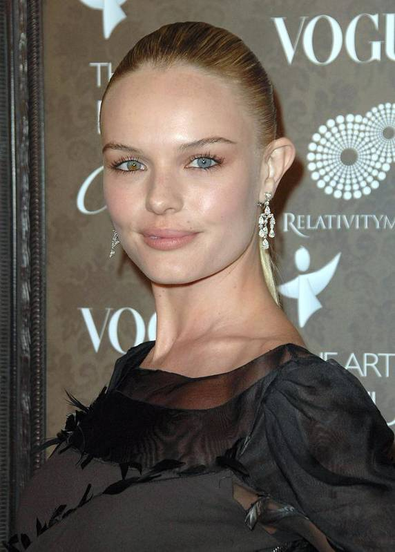 The Art Of Elysium 2nd Annual Black Tie Gala Poster featuring the photograph Kate Bosworth At Arrivals For The Art by Everett