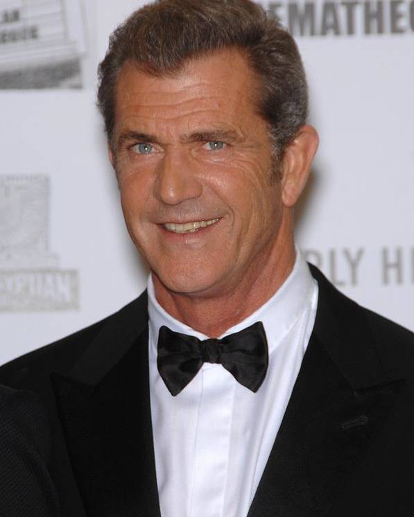 Mel Gibson Poster featuring the photograph Mel Gibson In Attendance For 25th by Everett