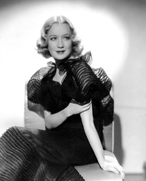 1930s Fashion Poster featuring the photograph Miriam Hopkins, Ca. 1930s by Everett