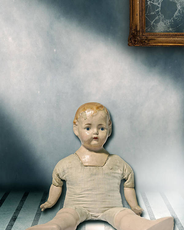 Doll Poster featuring the photograph Old Doll by Joana Kruse