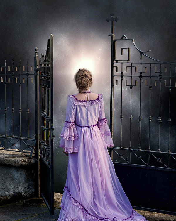 Woman Poster featuring the photograph Open Gate by Joana Kruse