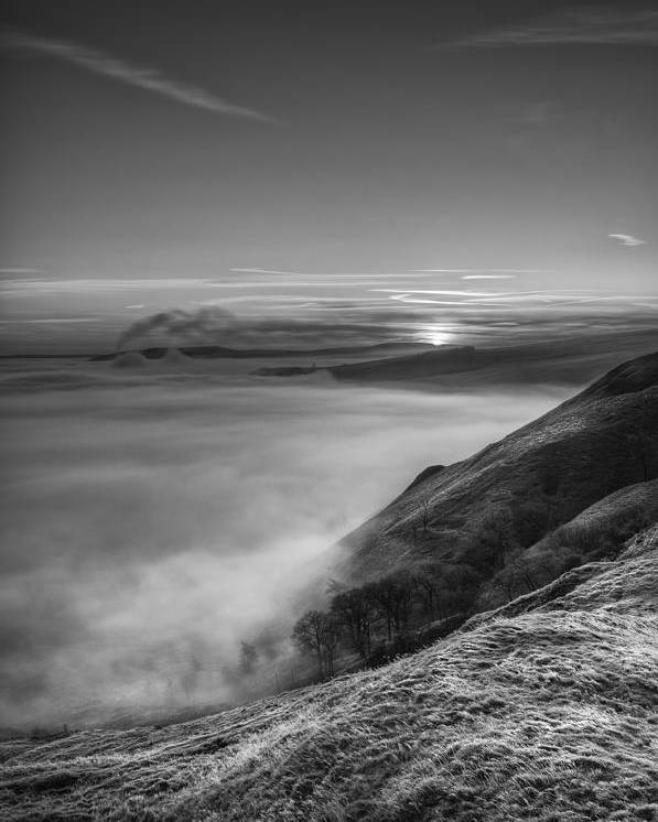 Castleton Poster featuring the photograph Peak District Sunrise by Andy Astbury