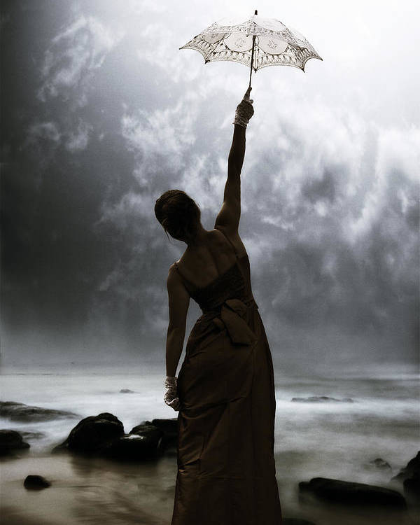 Female Poster featuring the photograph Silhouette by Joana Kruse