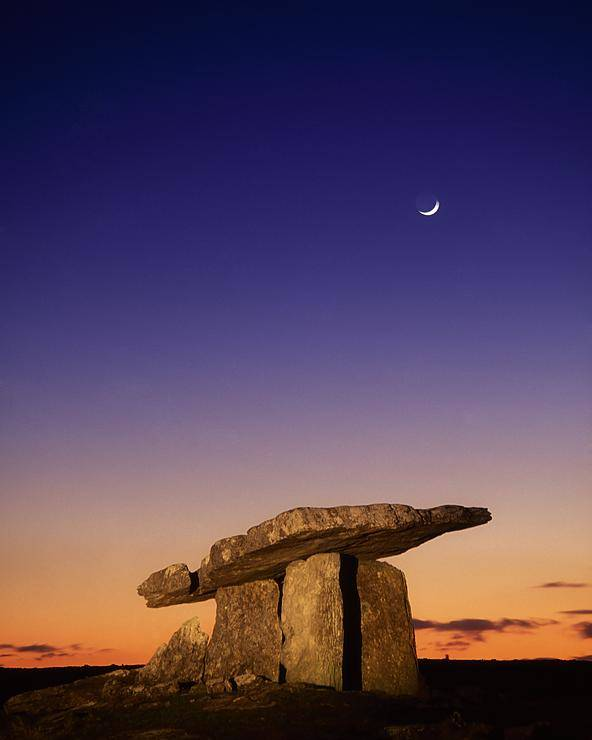 Sunset Poster featuring the photograph The Burren, County Clare, Ireland by Richard Cummins
